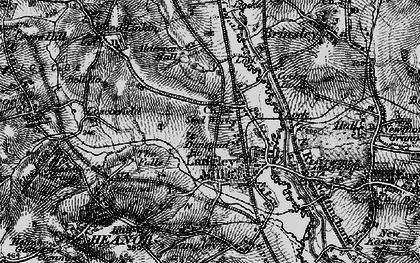 Old map of Aldercar in 1895