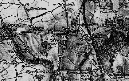 Old map of Alderton in 1899