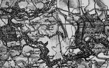 Old map of Aldfield in 1897
