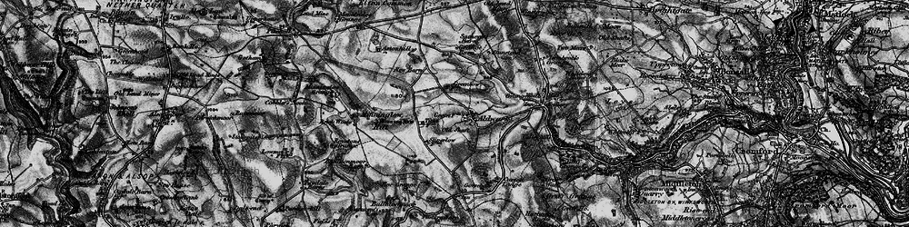 Old map of Aldwark in 1897