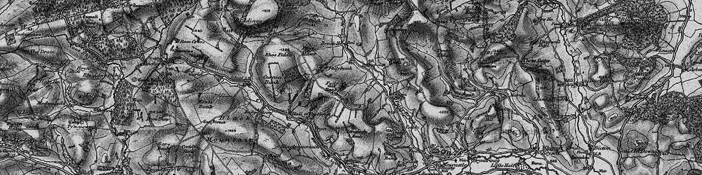 Old map of Ale Oak in 1899