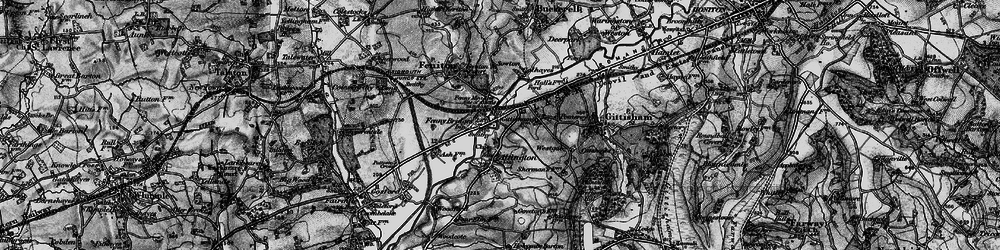 Old map of Westgate in 1898