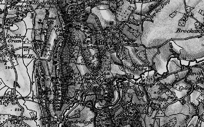 Old map of Alfrick Pound in 1898