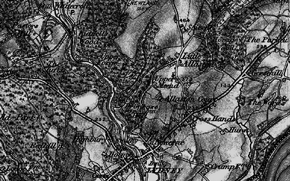 Old map of Allaston in 1897