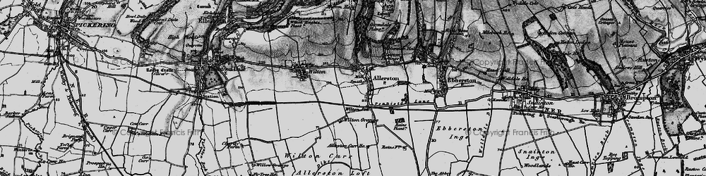 Old map of Wilton Grange in 1898