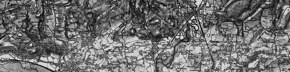 Old map of Allt in 1897