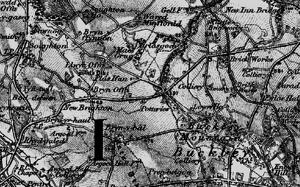 Old map of Tirlasgoch in 1897