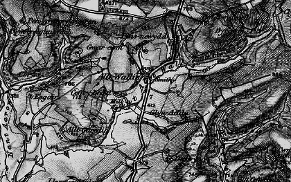 Old map of Alltwalis in 1898