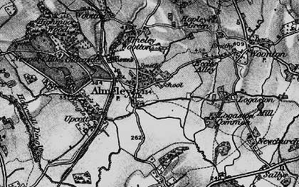 Old map of Almeley in 1898
