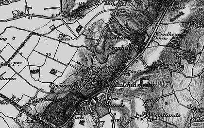 Old map of Almondsbury in 1898