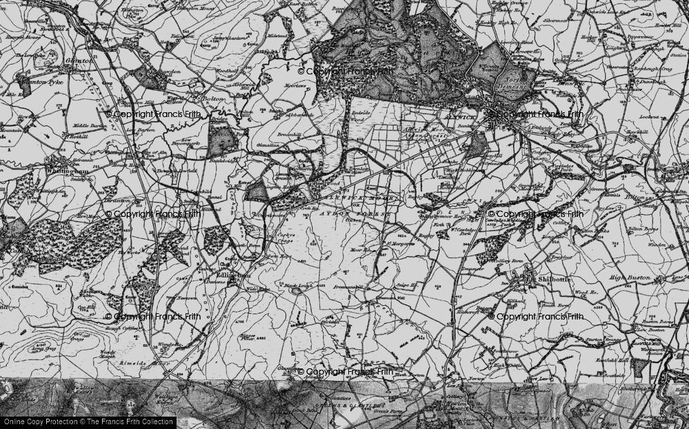 Alnwick Moor, 1897