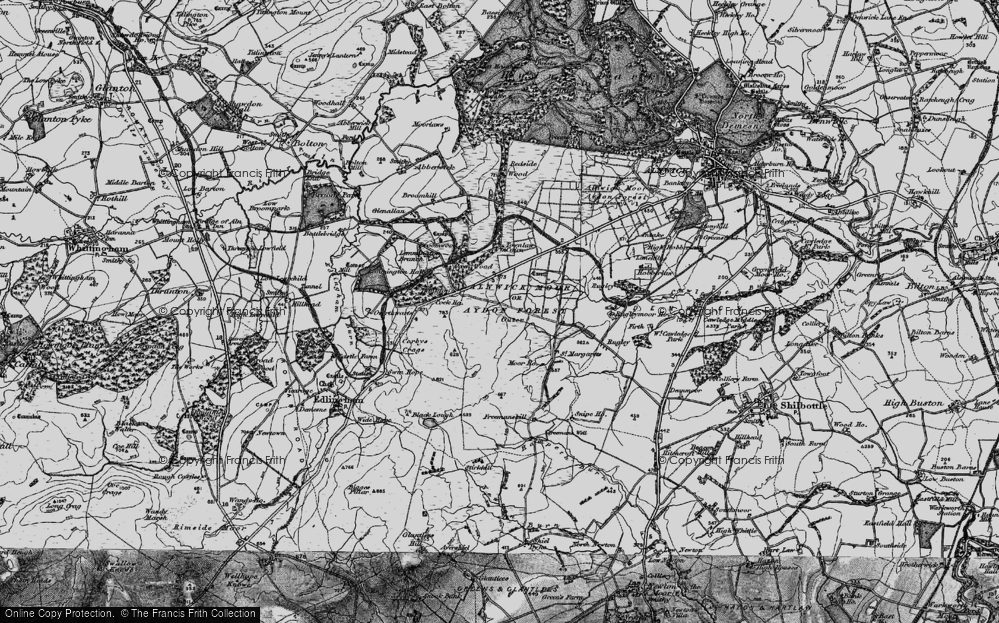 Alnwick Moor or Aydon Forest (Outer), 1897