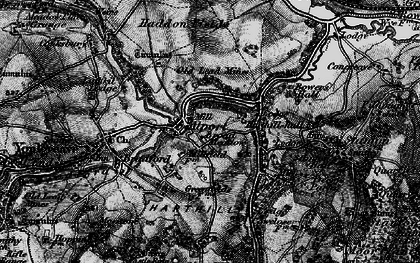 Old map of Alport in 1897