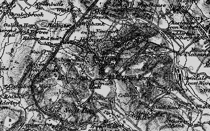 Old map of Alsagers Bank in 1897