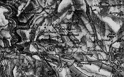 Old map of Tissington Trail in 1897