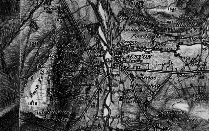 Old map of Bankfoot in 1897