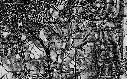 Old map of Alt in 1896