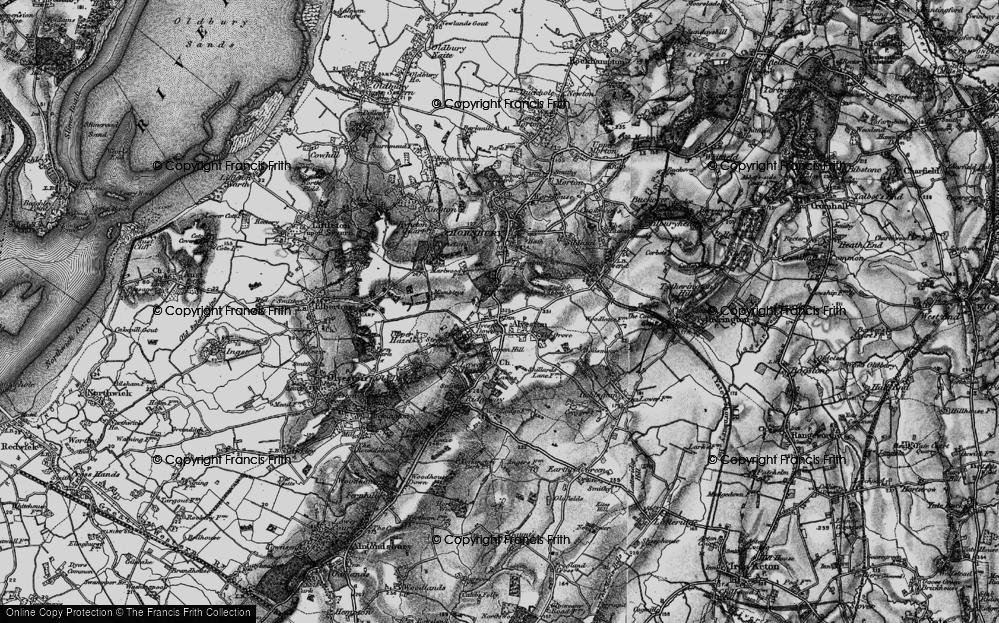 Old Map of Alveston, 1897 in 1897