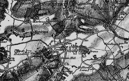 Old map of Alveston in 1897