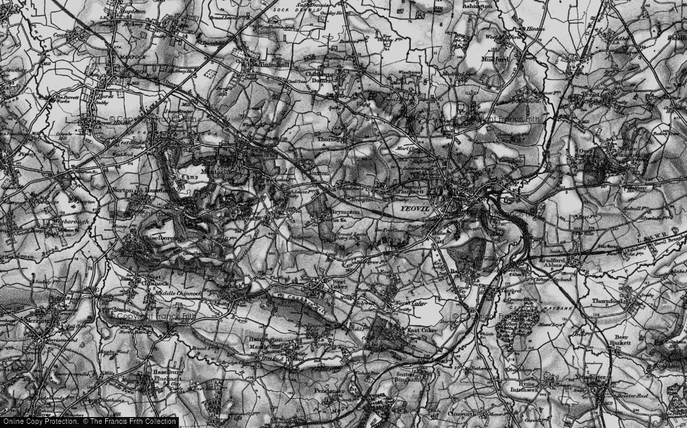 Old Map of Alvington, 1898 in 1898