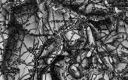 Old map of Ambler Thorn in 1896
