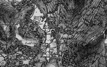 Old map of Ambleside in 1897