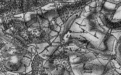 Old map of Y Drain in 1899