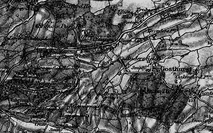Old map of Andersfield in 1898