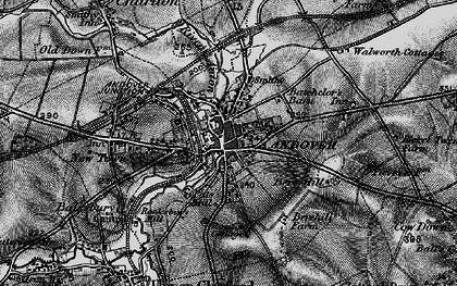Old map of Andover in 1895