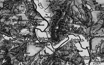 Old map of Ankerdine Hill in 1898