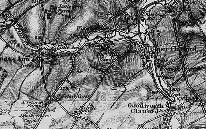 Old map of Anna Valley in 1895