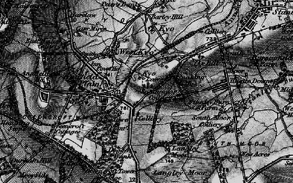 Old map of Annfield Plain in 1898