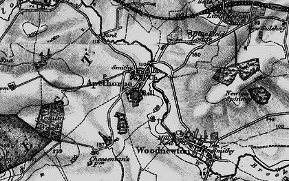 Old map of Tomlin Wood in 1898
