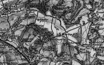 Old map of Apperknowle in 1896