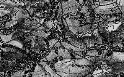Old map of Wheelbirks in 1898