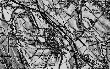 Old map of Bandley Wood in 1897