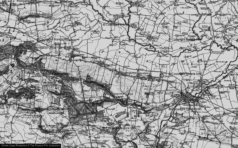 Old Map of Appleton-le-Street, 1898 in 1898