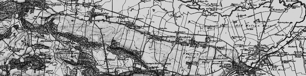Old map of Appleton-le-Street in 1898