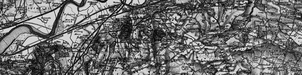 Old map of Appleton Resr in 1896
