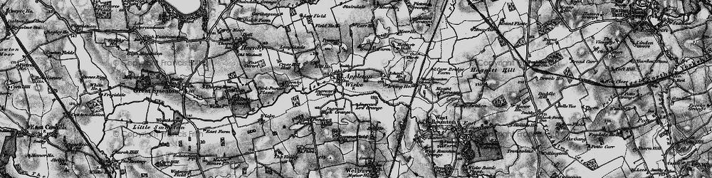 Old map of Appleton Wiske in 1898