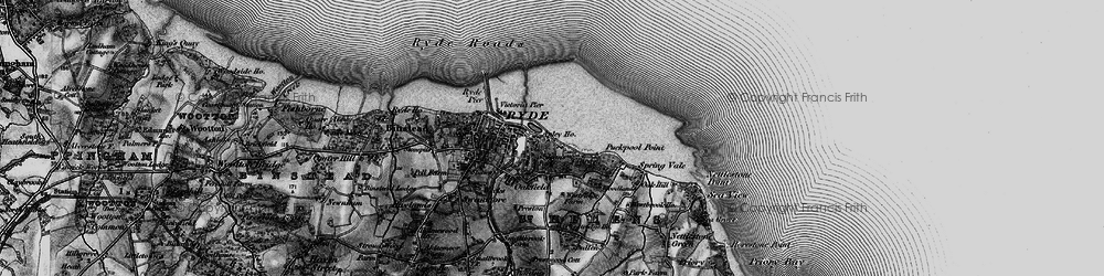 Old map of Appley in 1895