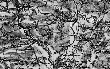 Old map of Appley in 1898