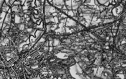 Old map of Arden Park in 1896