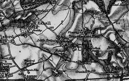 Old map of Ardens Grafton in 1898