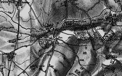 Old map of Ardley in 1896