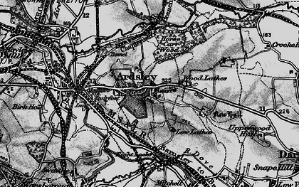 Old map of Ardsley in 1896