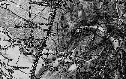 Old map of Arlebrook in 1896