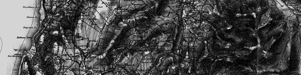 Old map of Arlecdon in 1897