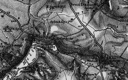Old map of Arlescote in 1896
