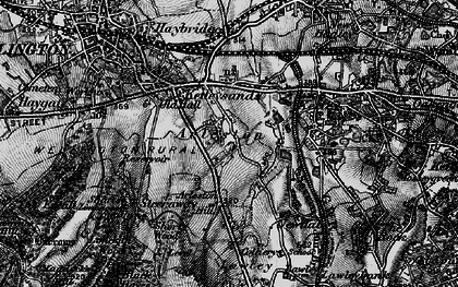 Old map of Arleston Hill in 1899